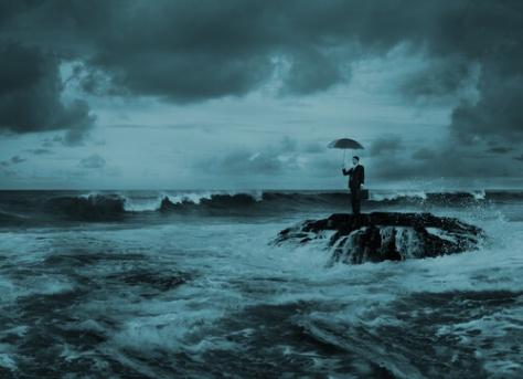 homem e mar