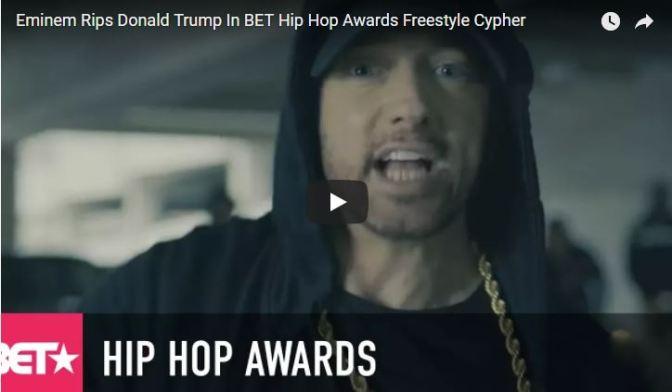Vídeo do Dia | Eminem declara guerra contra Trump
