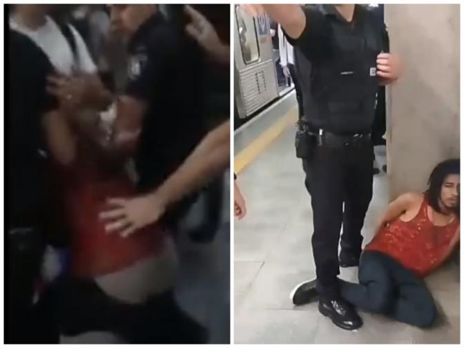"""""""O PT acabou, aqui é Bolsonaro"""" teria dito segurança ao agredir músicos no metrô"""